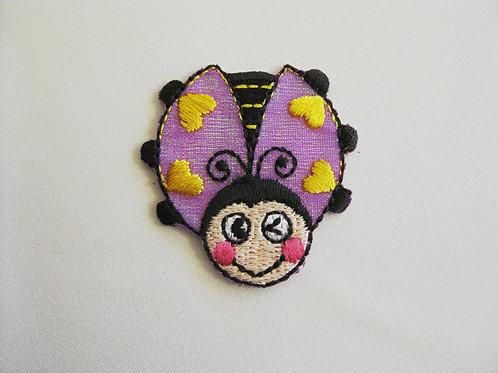 #32 Lady Beetle - Purple Wings