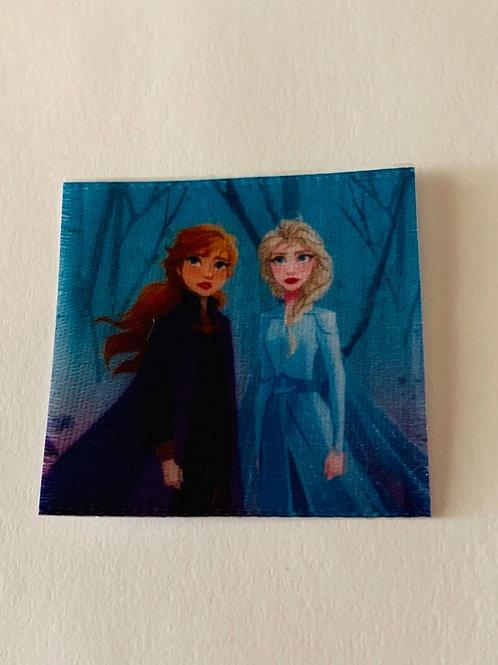 #184 Elsa and Anna Square 1