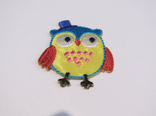 #116 Owl with hat