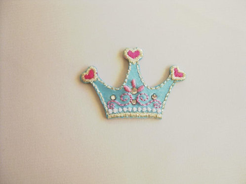 #21 Crown - Blue and Pink