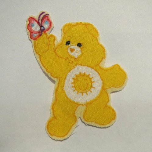 #20 Carebear -Yellow With Butterfly