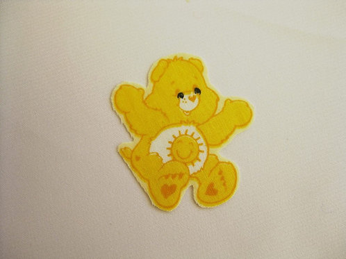 #20 Carebear - Yellow Sitting with sun