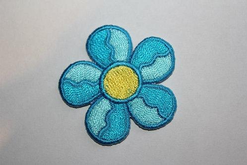#63 Flower Blue