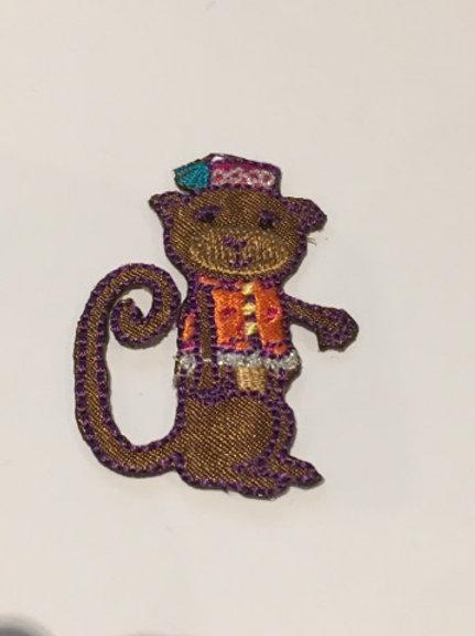 #106 Monkey Pink Hat