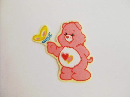 #20 Carebear - Pink with Butterfly