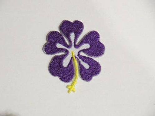 #74 Hibiscus - Purple