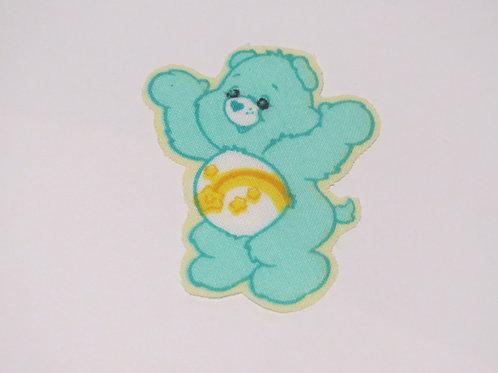 #20 Carebear - Aqua Yellow Rainbow