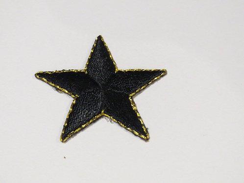 #154A Medium Star - Black