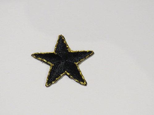 #154F Star - Small Black