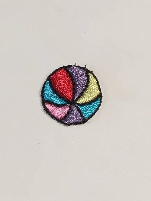 #121 Rainbow Ball (Small)