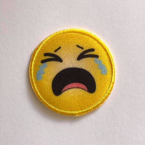 #80 Crying Emoji