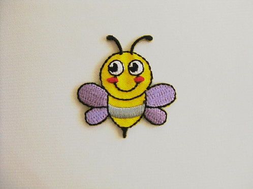 #7 Bumblebee -Yellow with purple wings