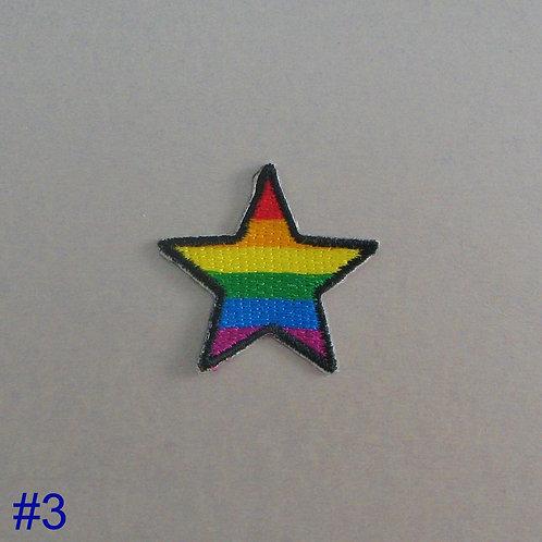 #222 Rainbow Star