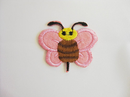#6 Bumblebee - Pink wings Brown body