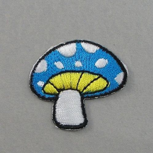 #156 Mushroom - Blue