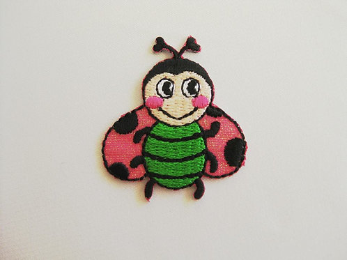 #31 Lady Bird - Pink wing green body