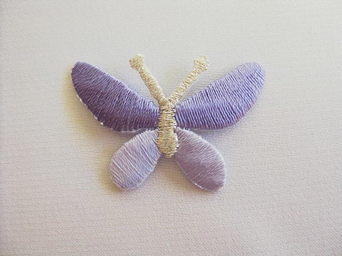 #14 Butterfly - Purple and Silver
