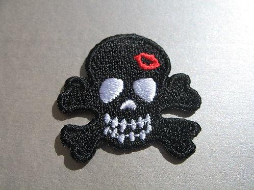#221 Goth emo punk rocker - BLACK