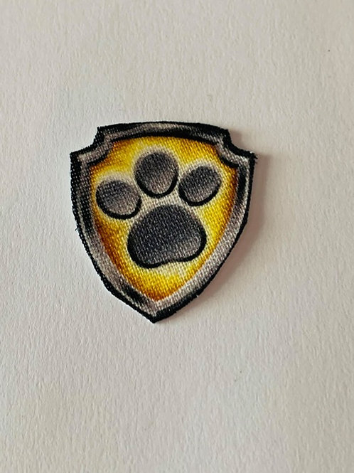 #182 Might Pups Paw Print