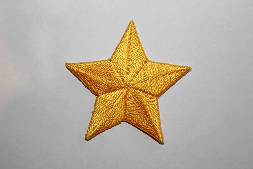 #62 Star -Yellow