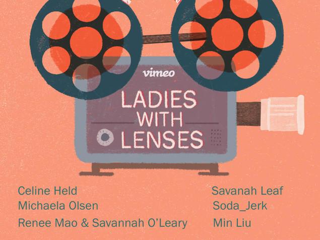 LADIES WITH LENSES