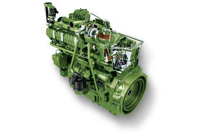 Motor john Deere 6125