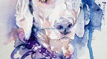 New Pet Portrait dog commission