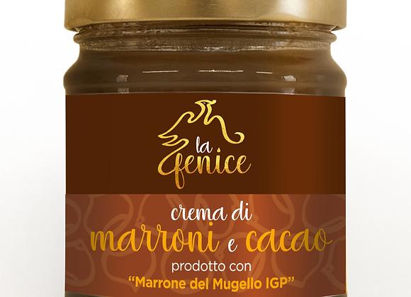 Crema di marroni e cacao