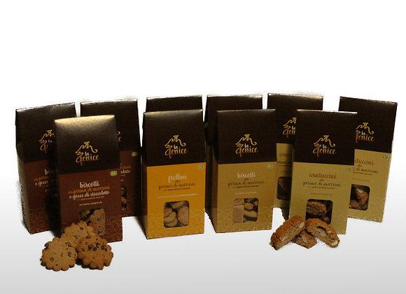 PACCO - Tutti i Biscotti alla Farina di Marroni e Grani Antichi Toscani