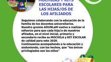 Kit Escolar 2020