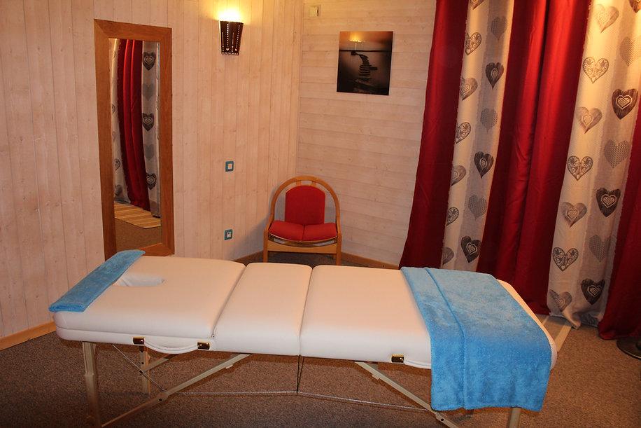 Salle de massage le montbrand - Gite Vercors Autrans