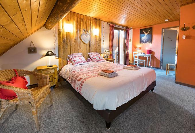 Gite Vercors Autrans - le Montbrand - Chambre Edelwiess 1