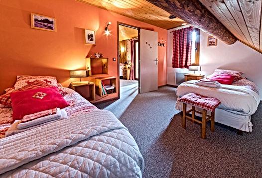 Gite Vercors Autrans - le Montbrand - Chambre Edelweiss 2