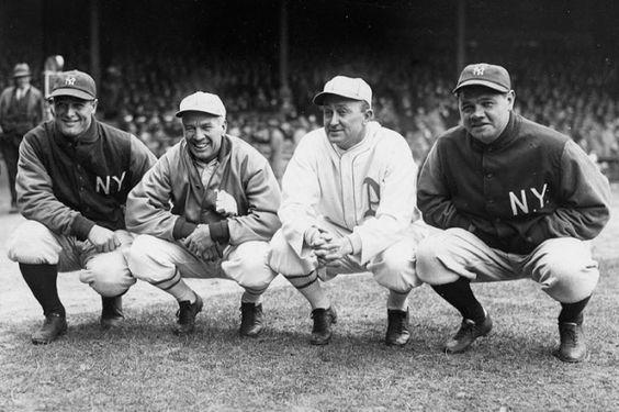 Lou Gehrig y Babe Ruth
