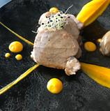 Filet mignon de veau, purée de carottes