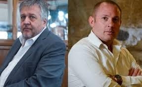 Carlos Stornelli, fiscal argentino, y Marcelo D´Alessio, el falso agente de la DEA