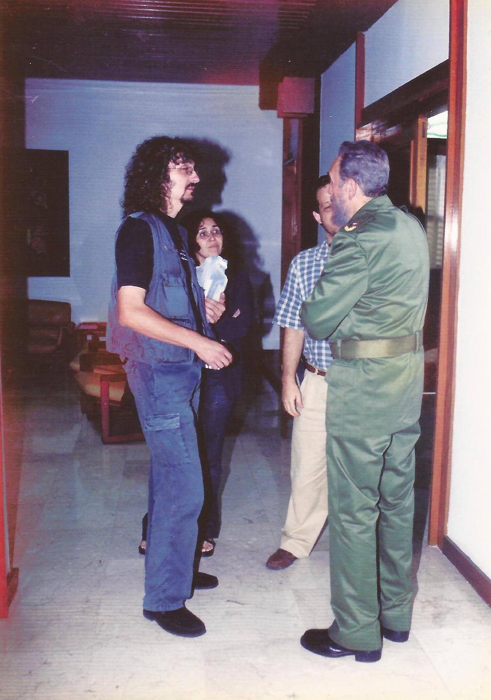Fidel, Palacio de Convenciones, Cuba, 2001
