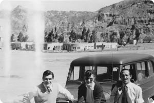 Ernesto Guevara con Calica Ferrer en Bolivia, julio de 1953