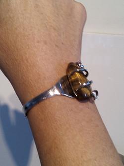 Bracelet Pierre de Oeil de Tigre