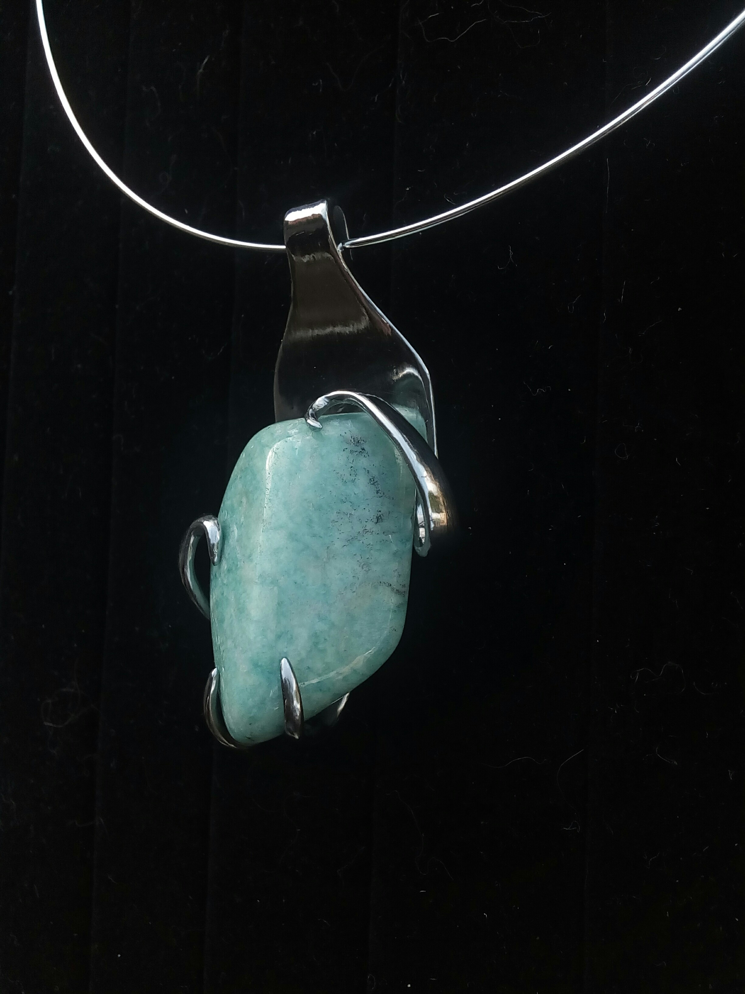 Collier Amazonite Pérou