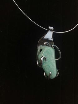 Collier Amazonite Pérou