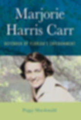 This is the cover of Peggy Macdonald's new biography of Marjorie Carr.