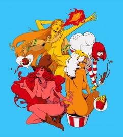 Fast Food Muses
