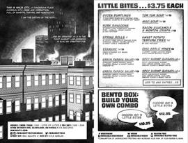 Ninja City Menu - Page 01