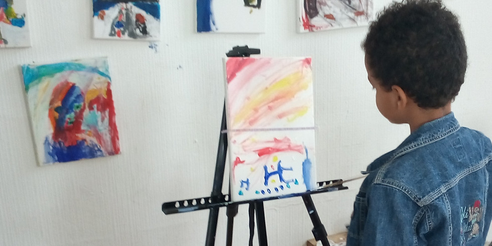 Painting classes 7-9 years