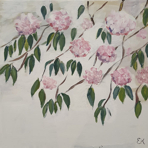 Abundance paining Cherry blossom