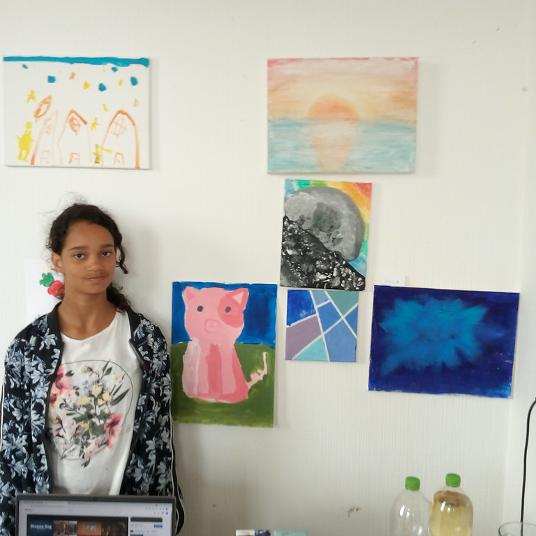 Painting class 10-12 years