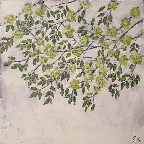 Elm tree painting