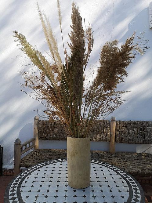 Vase moyen en Noyer - 12x24 cm