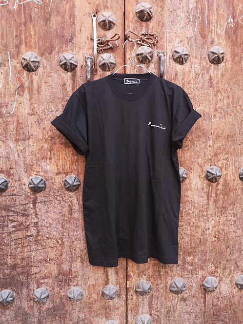 T-Shirt Femme Noir - MORROCAN TOUCH